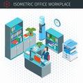 Isometric Modern Workplace