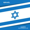 Israel Independence Day greeting card.