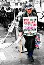 Stock Image Israel Palestine Protest