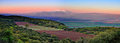 Israel Sunset Landscape Royalty Free Stock Photo