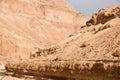 Israeli adventures in stone desert hiking judean for travel Stock Image