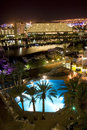 The Israeli night in Eilat Royalty Free Stock Photos