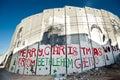 Israeli Separation Wall in Bethlehem Royalty Free Stock Photo