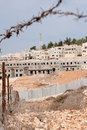 Israeli Settlement Construction Stock Image