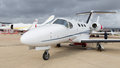 Istanbul airshow turkey september cessna citation mustang in which held in ataturk airport Royalty Free Stock Photos