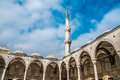 Istanbul blue mosque the breathtaking in turkey Royalty Free Stock Images