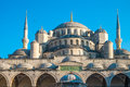Istanbul blue mosque the breathtaking in turkey Stock Image