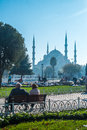 Istanbul blue mosque the breathtaking in turkey Stock Images