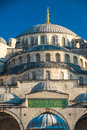 Istanbul blue mosque the breathtaking in turkey Royalty Free Stock Photos