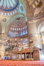 Istanbul blue mosque the breathtaking in turkey Royalty Free Stock Photography