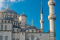 Istanbul blue mosque the breathtaking in turkey Stock Photos
