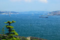 Istanbul - Bosphorus strait Royalty Free Stock Photos