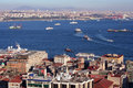 Istanbul and Bosporus Royalty Free Stock Image