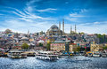 Istanbul the capital of Turkey Royalty Free Stock Photo