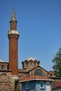 Istanbul church and mosque detail Royalty Free Stock Photos