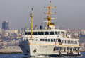 Istanbul Cityline Boat Royalty Free Stock Photo