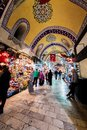 Istanbul Grand Bazaar Royalty Free Stock Photo