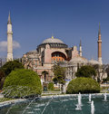 Istanbul - Hagia Sophia Mosque Royalty Free Stock Photo