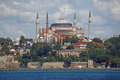 Istanbul Hagia Sophia sea view Royalty Free Stock Images