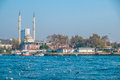 Istanbul mosque along the bosphorus sea in turkey Stock Photography