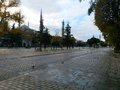 Istanbul Sultanahmet square, reeks of history Royalty Free Stock Photo