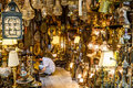 Istanbul turkey august one of the many shops at the grand bazaar in istanbul turkey walled city Stock Photography