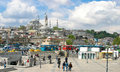 Istanbul turkey urban scene in Royalty Free Stock Photography