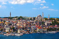 Istanbul Turkey view Royalty Free Stock Photography