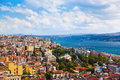 Istanbul Turkey view Royalty Free Stock Photo
