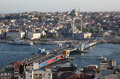 Istanbul view, Turkey Royalty Free Stock Photography