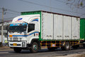 Isuzu FTZ240 Container Truck and Trailer PPL Logistic Transport.