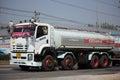 Isuzu FYH360 Trailer Truck and Palm Oil Tank Truck of Suksamran