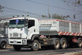Isuzu GXZ360 Trailer Truck and Dump truck of P and K Transport