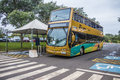 Itaipu dam foz do iguaçu pr bus used in the panoramic tour Royalty Free Stock Images