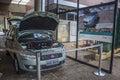 Itaipu dam foz do iguaçu pr electric vehicle Royalty Free Stock Images