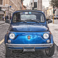Italia classico rome january italian classic fiat on january in rome italy the fiat cinquecento is a city car produced by the Stock Photo