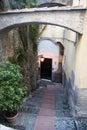 Italian alley Royalty Free Stock Photo