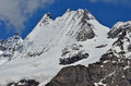 Italian alps dent d herens and punta margherita in the valpelline valley in the above aoste Royalty Free Stock Image