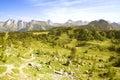 Italian Alps,  Dolomites Royalty Free Stock Images