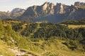 Italian Alps, Dolomites Stock Photo