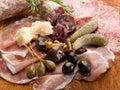 Italian appetizer Stock Images