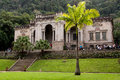 Italian architecture style mansion in Parque Lage in Rio de Janeiro Royalty Free Stock Photo