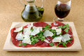 Italian bresaola product Stock Photos