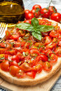 Italian bruschetta tasty mediterranean traditional cuisine Stock Photos