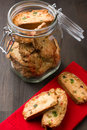 Italian cantuccini Stock Photography