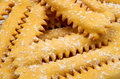 Italian carnival sweet food Royalty Free Stock Image