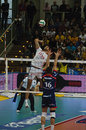 Italian Championship: Trentino Volley vs Macerata Stock Photo