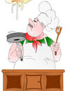 Italian chef! Royalty Free Stock Photo