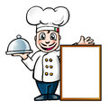 Italian chef Royalty Free Stock Image
