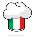 Italian chef hat vector illustration of Royalty Free Stock Photography
